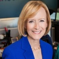 Judy Woodruff Headshot