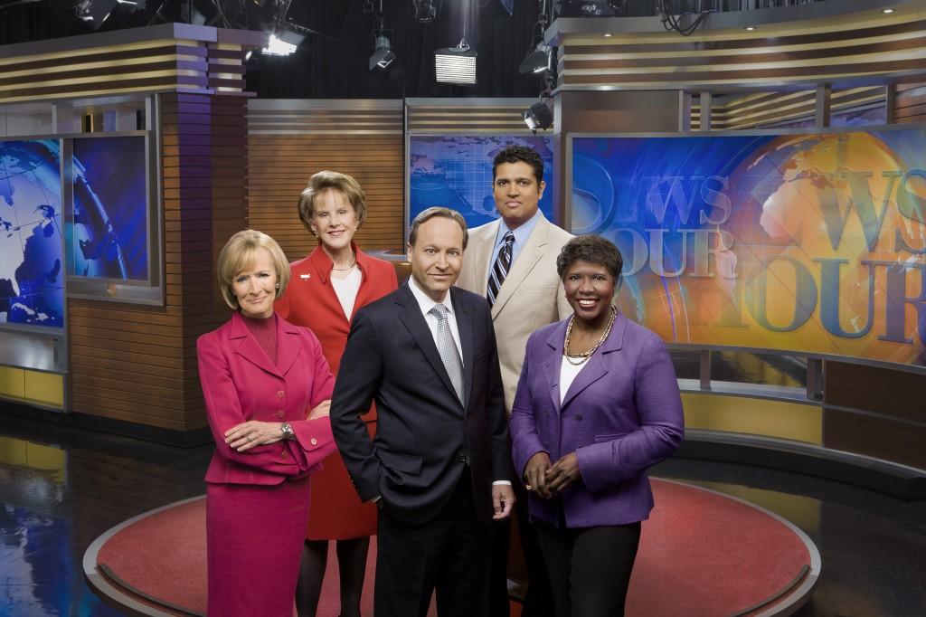 NewsHour group photo
