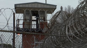 prison and barbed wire