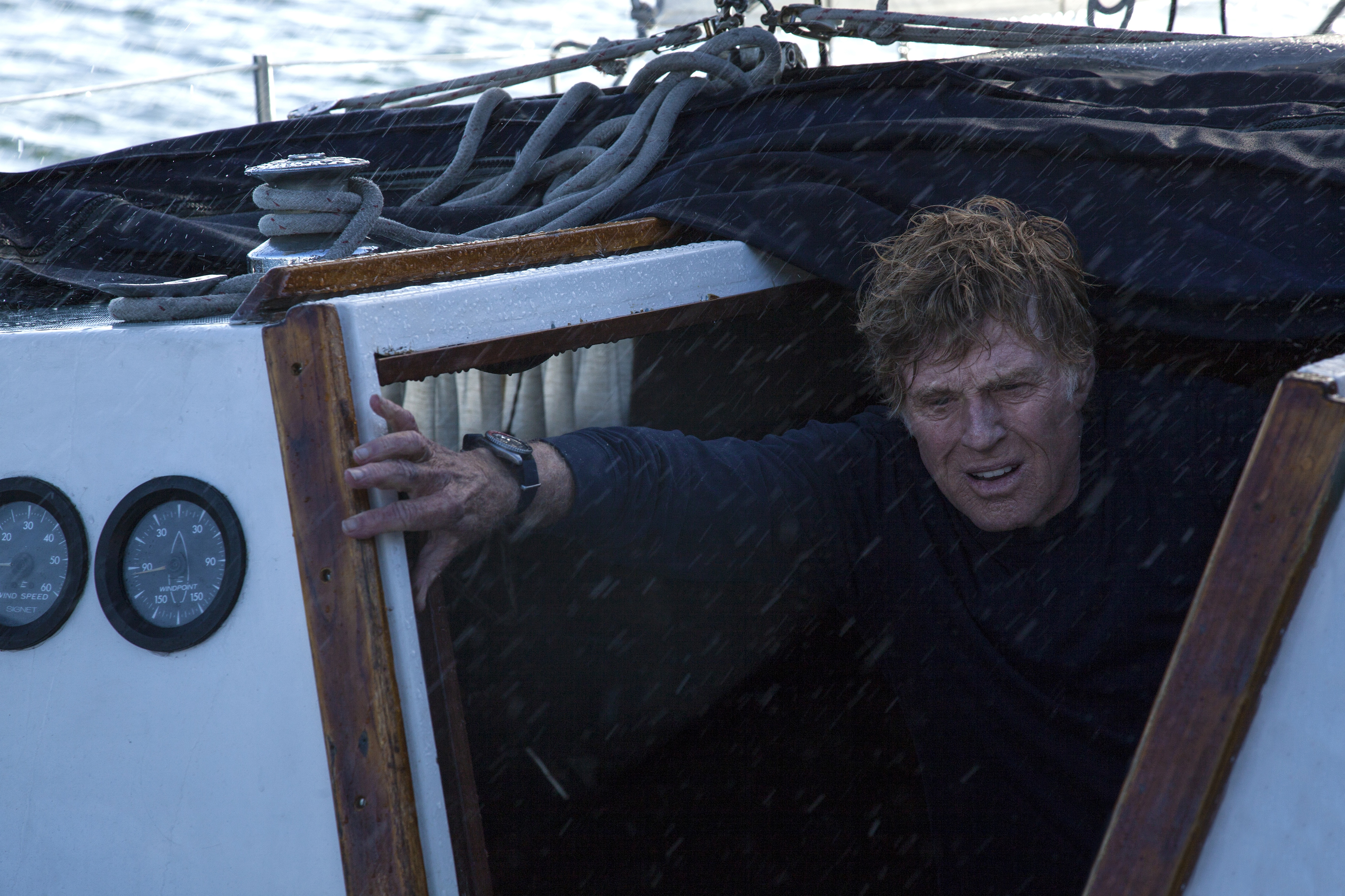 "Robert Redford in""All is Lost."" Courtesy Daniel Daza/Lionsgate Films"