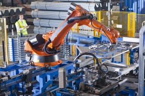 Robots still lack the interpersonal skills that will continue to give humans an advantage in the labor market. Photo by Echo via Getty Images.