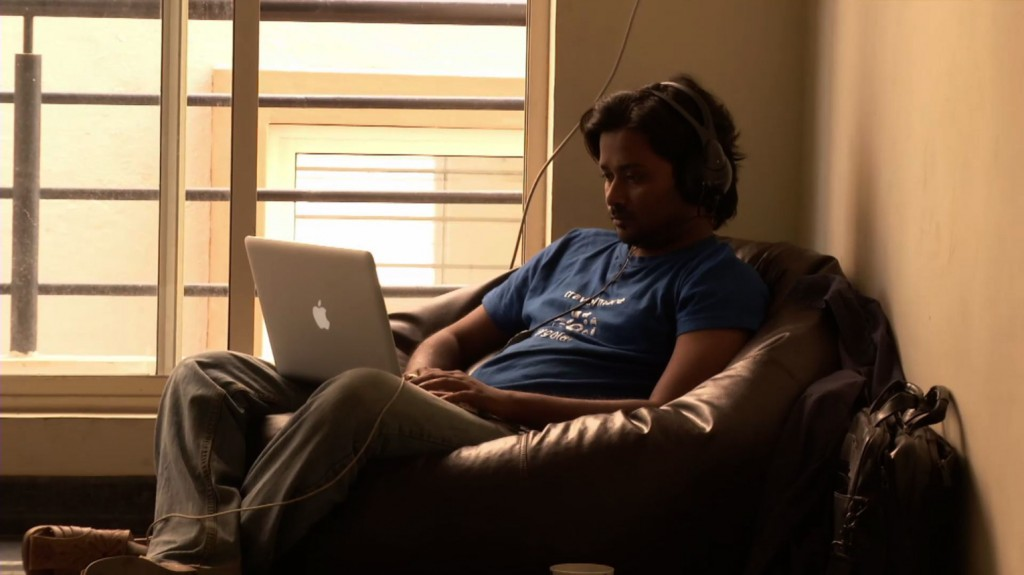 High-tech worker in Bangalore startup