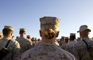 A survey found that more than 20,000 service members said they experienced some type of sexual assault last year. Photo by Paula Bronstein/Getty Images