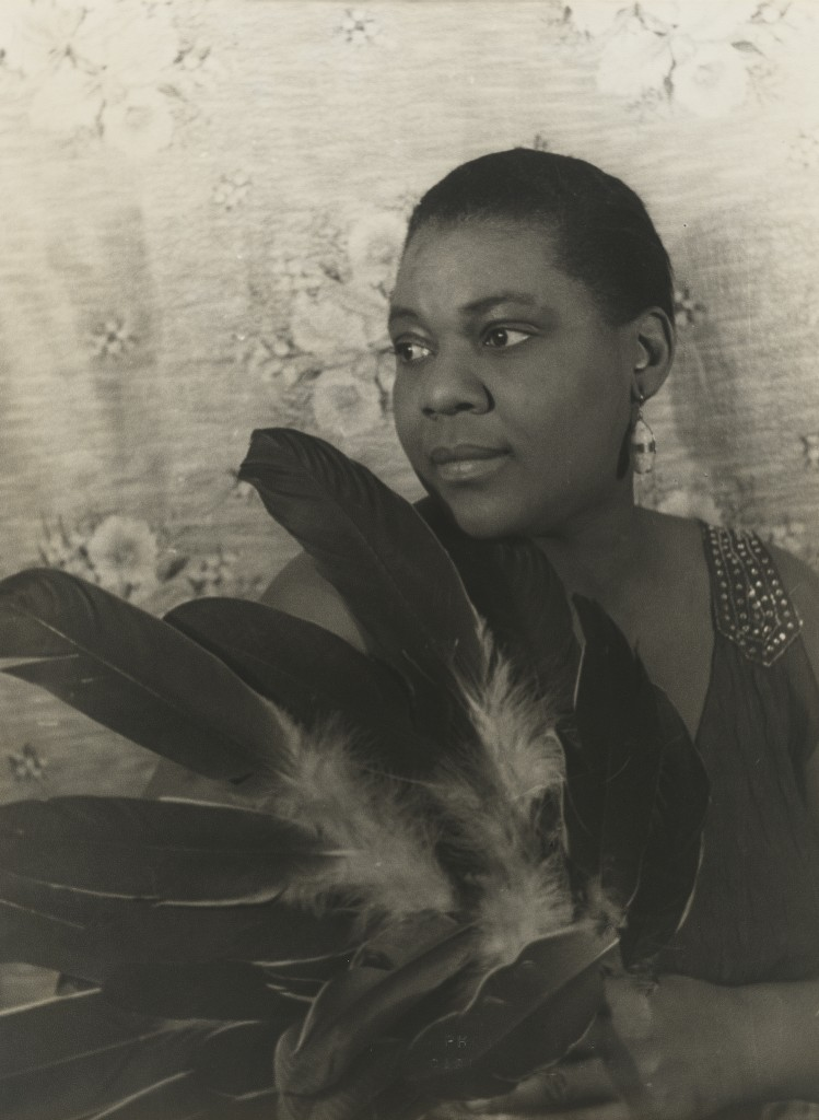 Photo of Bessie Smith by Carl Van Vechten. Courtesy of National Portrait Gallery.