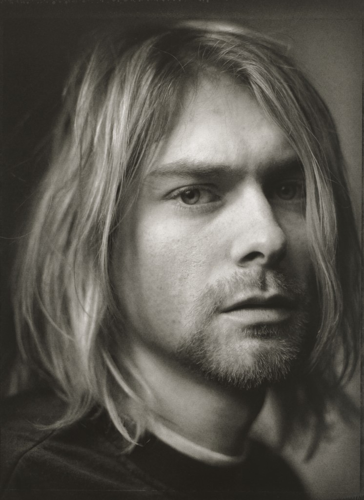 Photo of Kurt Cobain by Mark Seliger. Courtesy of the National Portrait Gallery