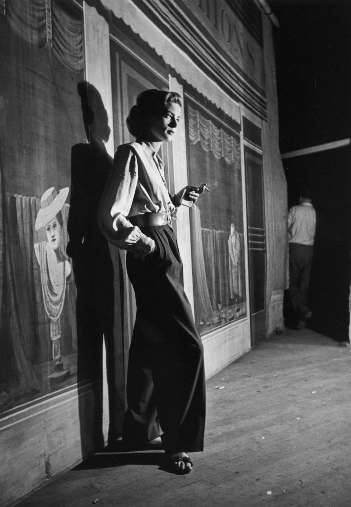 Photo of Lauren Bacall by Alfred Eisenstaedt. Courtesy of National Portrait Gallery.