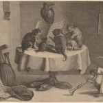 Coryn Boel after David Teniers the Younger (Flemish, 1620 - 1688 ), The Cat's Concert, , engraving and etching on laid paper,