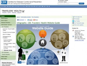 Centers for Disease Control Traveler's Health Guide