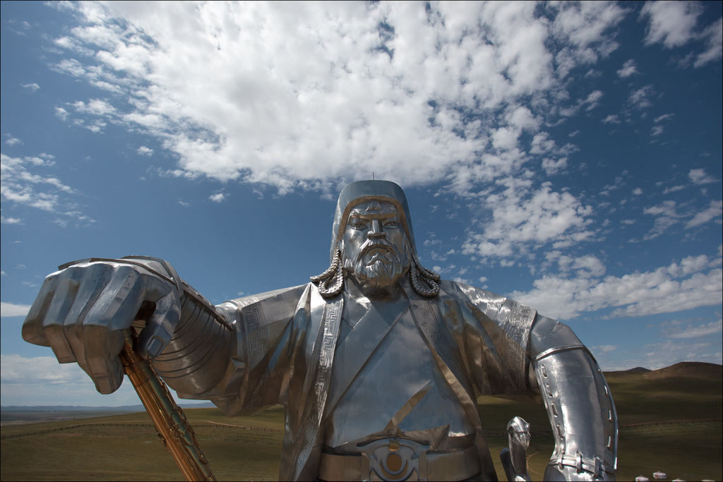 ancient tree rings suggest good weather helped genghis khan build
