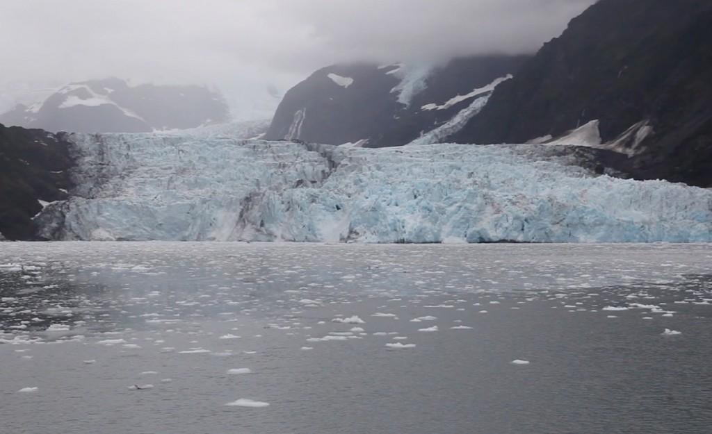 A glacier in Prince William Sound, Alaska