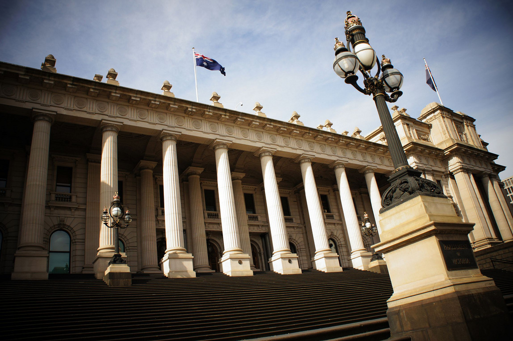 Parliament of Victoria, Melbourne. Photo by Flickr user Widhi Rachmanto