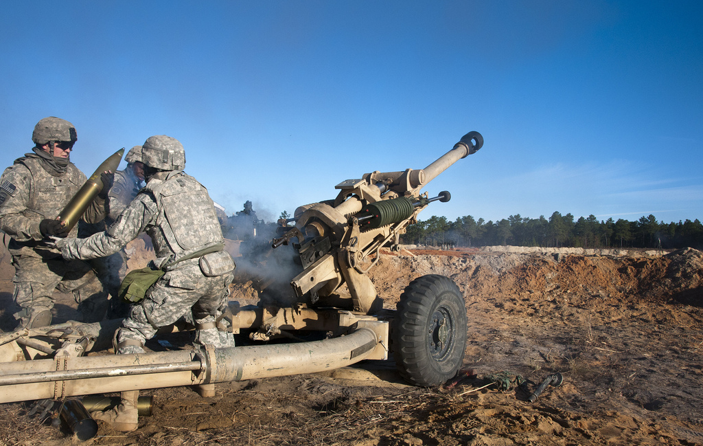 First women move into Army field artillery jobs