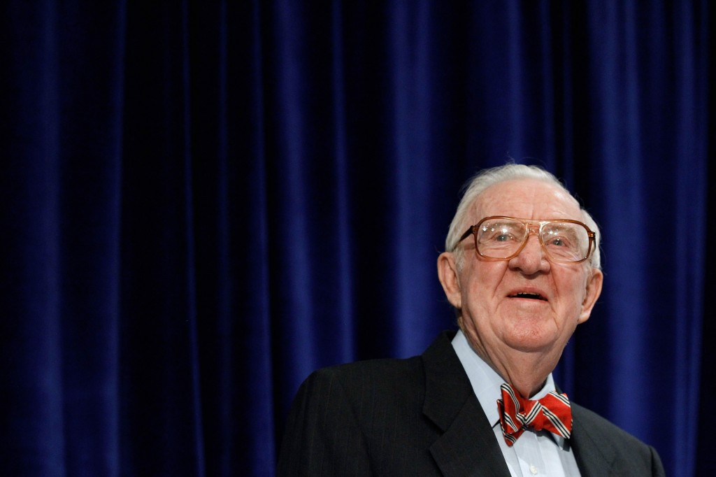 Retired U.S. Supreme Court Justice John Paul Stevens, in 2012. Photo by Chip Somodevilla/Getty Images