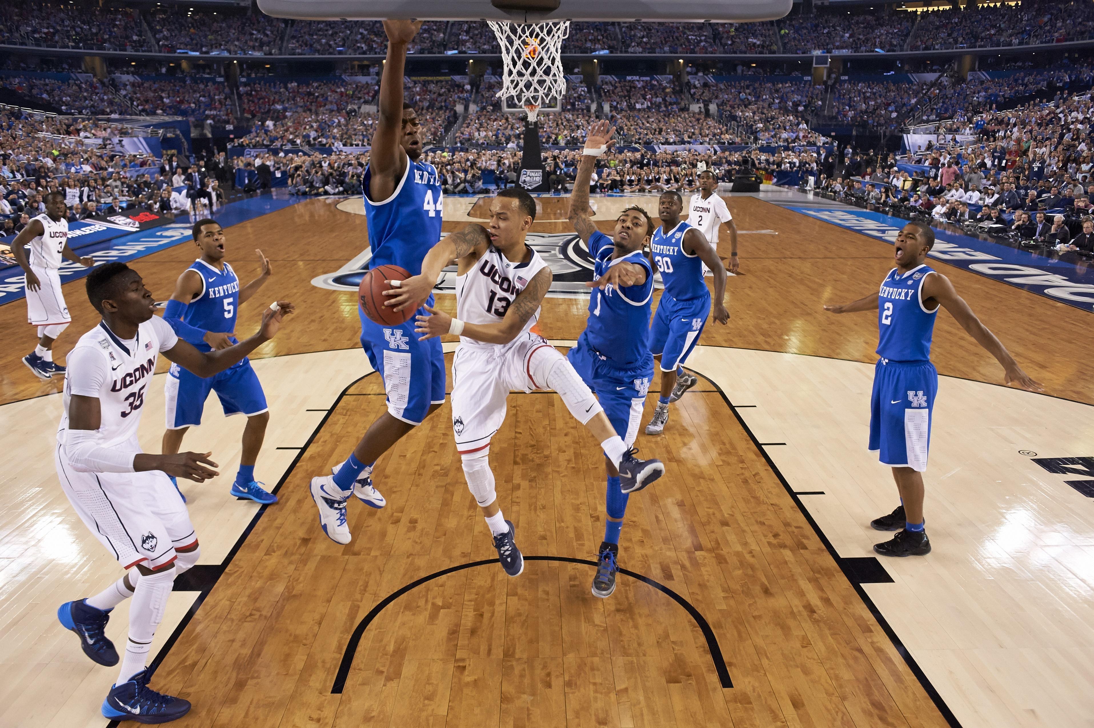 University of Connecticut vs University of Kentucky, 2014 NCAA National Championship