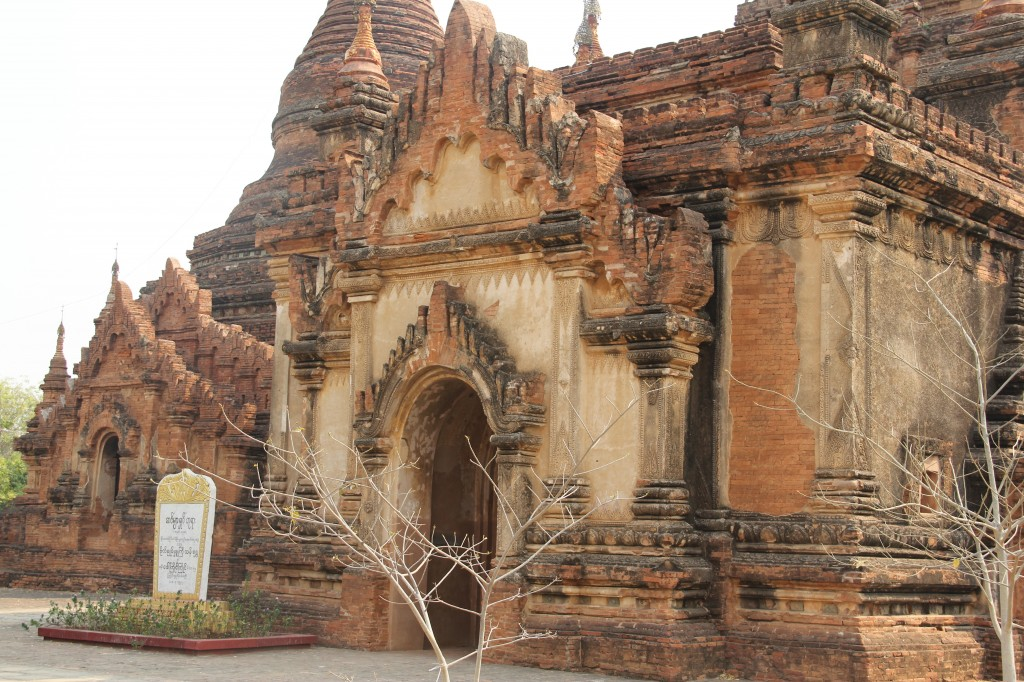 "Many members of the former military government built faux-historic pagodas to earn merit in the Buddhist religion. That practice, along with inferior restoration projects, led UNESCO to deny Bagan the much-coveted ""world heritage site"" designation. Photo by Mary Jo Brooks/PBS NewsHour"