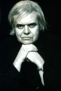 Surrealist artist H. R. Giger.  Photo by Dana Frank/Ovoworks/Ovoworks/Time Life Pictures/Getty Images