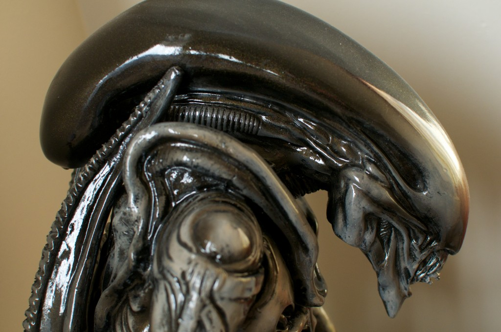 "A replica of the Xenomorph, based off H.R. Giger's design for 1979's ""Alien."" Photo by Flickr user Pug50"