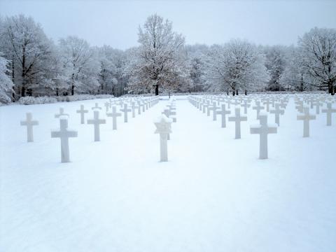 Ardennes American Cemetery in Belgium