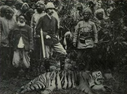 "Franz Ferdinand shot his first tiger on a six-week trip to India in 1893. ""I cannot describe my joy,"" he wrote of the kill."