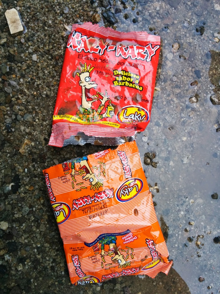 Similar to American junk food, the cheap and non-nutritious wrappers are found across. Guatemala. Photo by Hari Sreenivasan