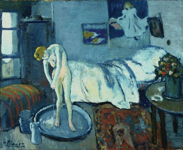 "Picasso's ""Blue Room."" Courtesy of the Phillips Collection."