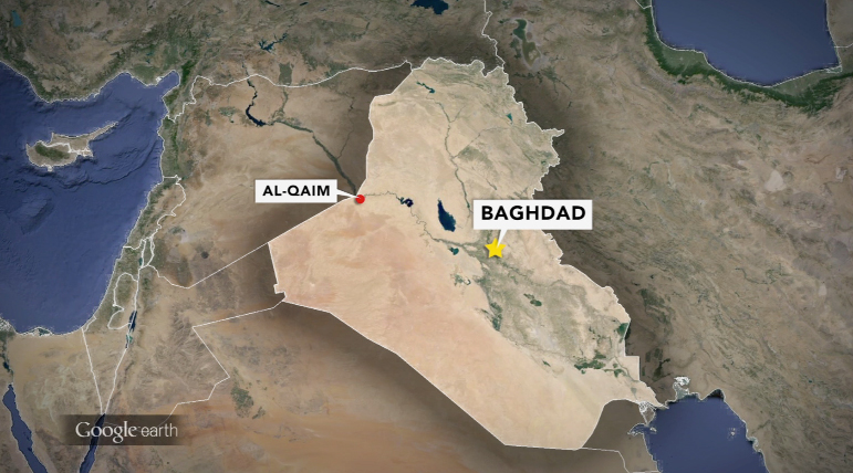 Militants gain ground in Iraq near Syrian border