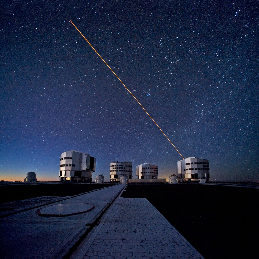 The ESO Very Large Telescope (VLT)
