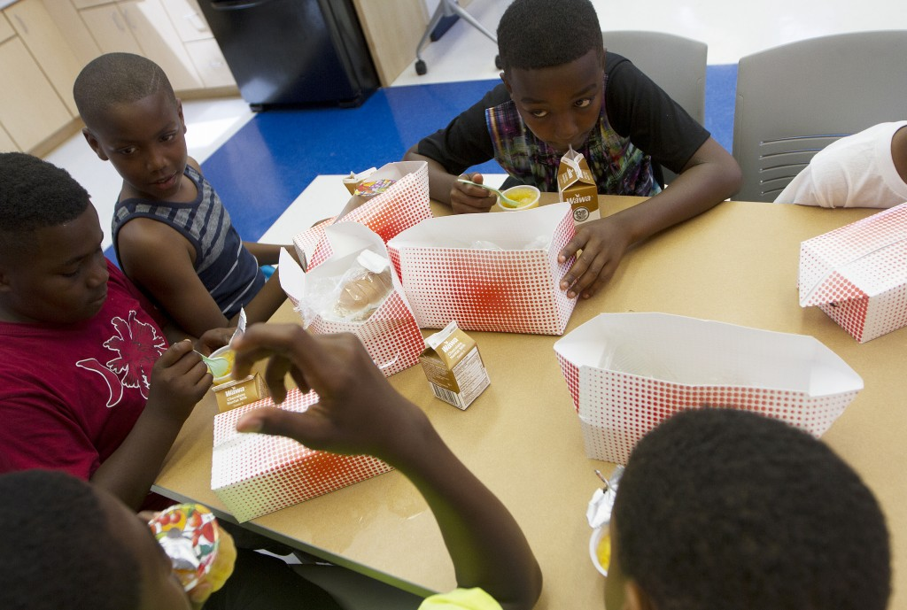 The USDA funds the summer meals program across the nation. Photo by Margaret Myers/NewsHour
