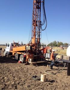 California water drill