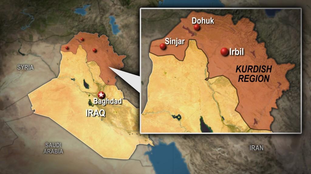 Iraqi map