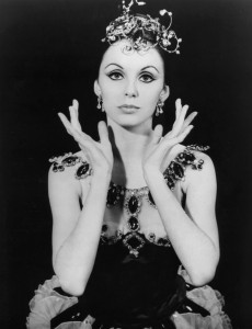 """Photo of Patricia McBride, who was part of the original cast for George Balanchine's ballet, """"Jewels,"""" first performed in 1967. Photo via Wikimedia Commons/New York Ballet Theater"""