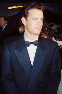 Tom Hanks at Governor's Ball party after the 1989 Academy Awards. Photo via Wikimedia Commons/Alan Light