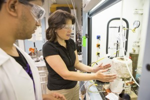 Environmental engineer Tami Bond researches black carbon emission to understand how energy interacts with the atmosphere and better determine the effects on global climate. Photo courtesy of the John D. and Catherine T. MacArthur Foundation.