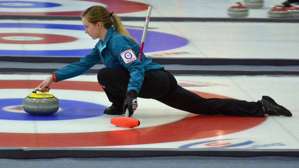 Curling didn't officially become a Winter Olympic sport until 1998. Image by Flickr user Peter Miller