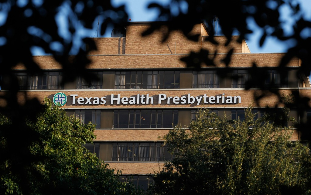 Thomas Eric Duncan, the first patient to be diagnosed with Ebola in the U.S., died Wednesday, Texas Health Presbyterian Hospital Dallas confirmed. Photo by Mike Stone/Getty Images