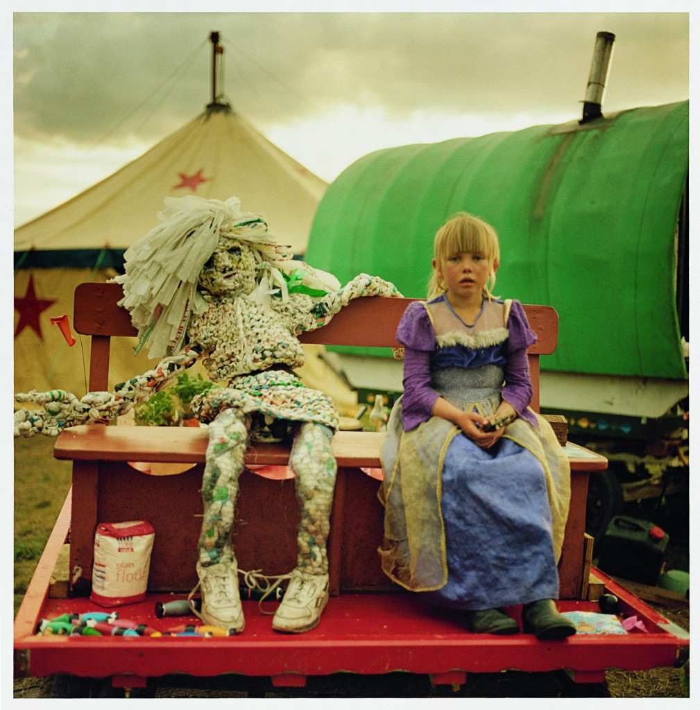 Beanie with rag doll, 2007. Photo by Iain McKell