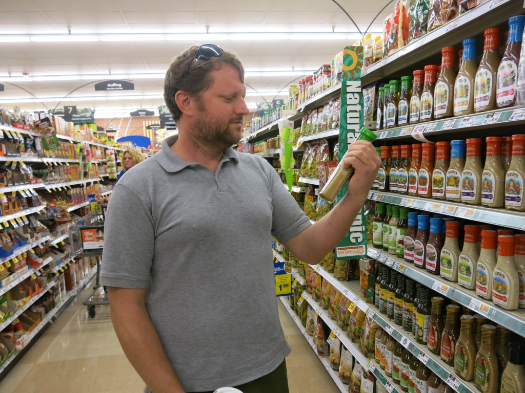 Denver resident Ben Hamilton sat on a citizen panel tasked with writing a report on proposition 105, which would require the labeling of foods that contain genetically modified ingredients. Photo courtesy of Luke Runyon, KUNC and Harvest Public Media.