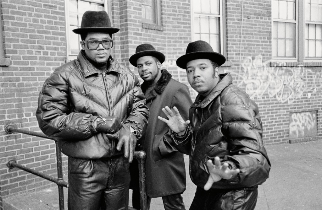 Run-DMC and Jam Master Jay in Queens, New York circa 1985. Photo by Glen Friedman, courtesy of Rizzolli New York.