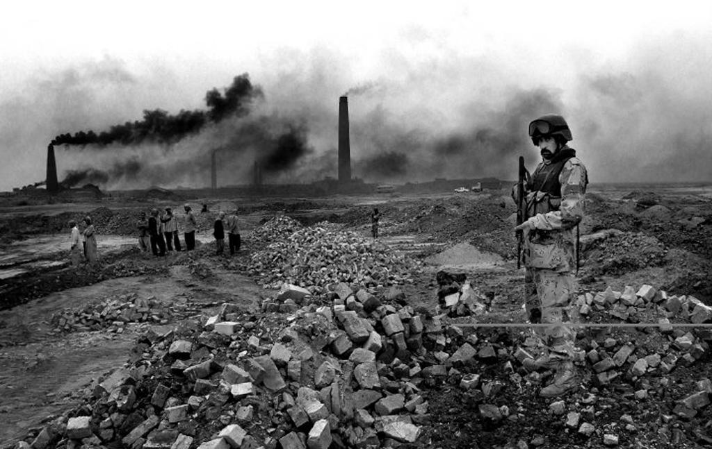 Brick factories in Northern Iraq. Photo by William Spencer