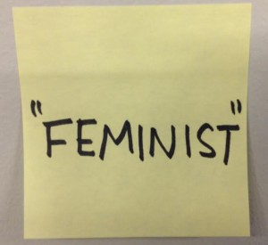 "TIME included ""feminist"" in a poll asking ""Which Word Should Be Banned in 2015?"""