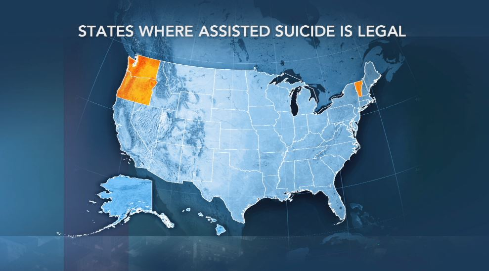 Whats The State Of Assisted Suicide Laws Across The Us  Pbs  Whats The State Of Assisted Suicide Laws Across The Us  Pbs Newshour