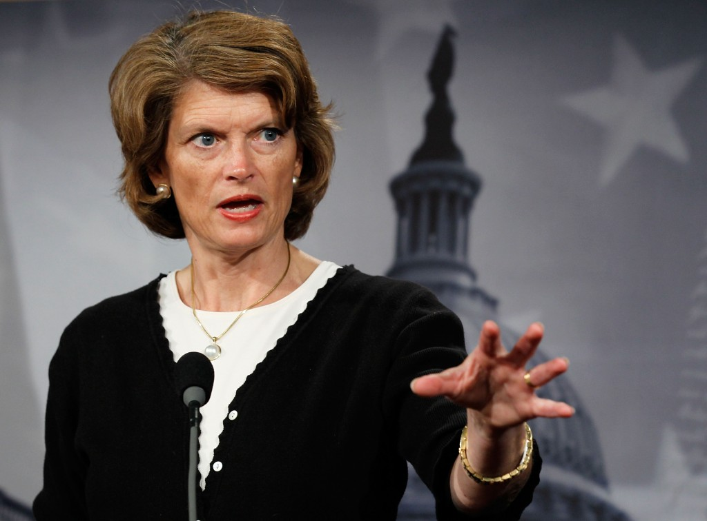 U.S. Sen. Lisa Murkowski (R-AK) speaks during a news conference June 15, 2010 on Capitol Hill in Washington, DC. Murkowski...