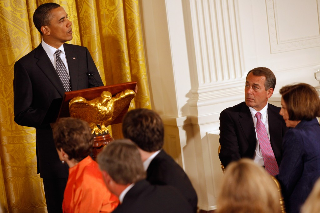 Obama Hosts Bipartisan Congressional Leaders At White House Dinner