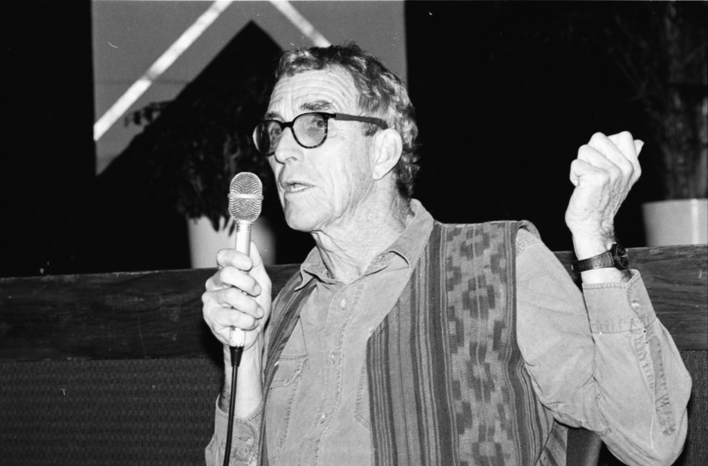 Peter Matthiessen, Miami Bookfair International, 1991