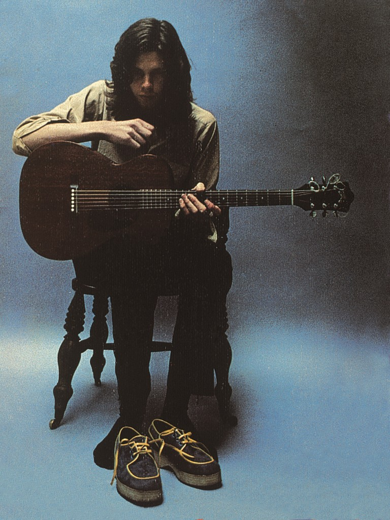 """The front cover of """"Bryter Layter,"""" Nick Drake's second album. Photo by Nigel Waymouth"""