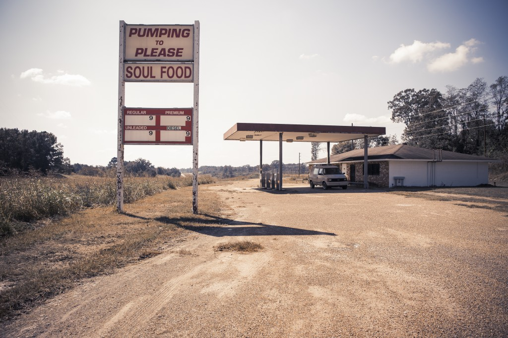 A rural gasoline station in lower Alabama offers more than fuel in this photo Reynolds took. A handful of her photographs will be on exhibit at the Ogden Museum of Southern Art in New Orleans starting on Dec. 5.  Photo courtesy of Tamara Reynolds
