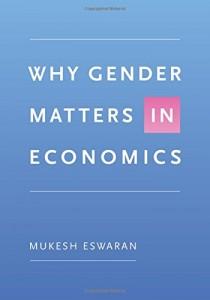 Why gender matters in economics (bookjacket)