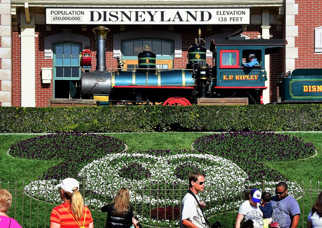 Disneyland in Anaheim, California. Photo by FREDERIC J. BROWN/AFP/Getty Images