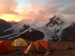 They scaled Mount Aconcagua in Argentina, South America's highest peak at 22,841 feet. Photo by Flickr user Mandala Travel.
