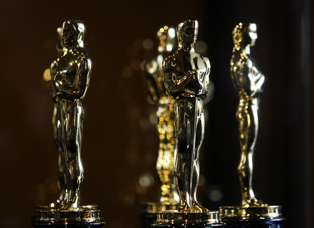 """Oscar statuettes are displayed at the """"Meet The Oscars"""" exhibit bef…"""
